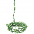Gypsophila garland, L240cm, white-green